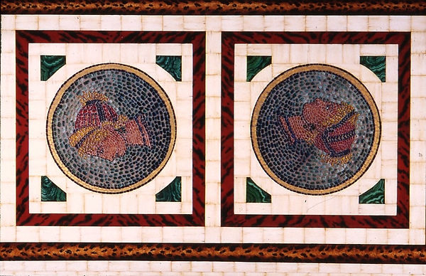 ivoor,panter,schildpad, malanchite,mozaik