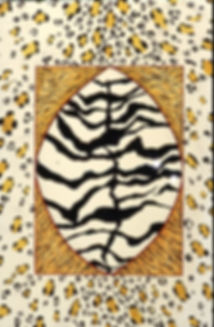 zebra, tijger, panter