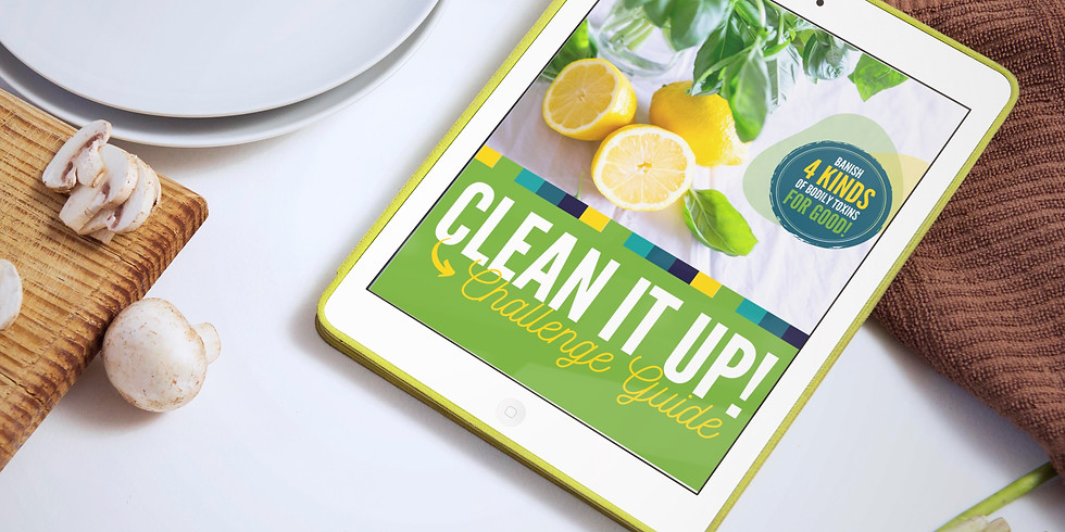 5 Day Clean It Up Challenge