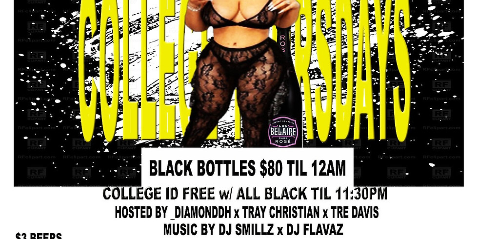 College Thursday's #AllBlackEdition