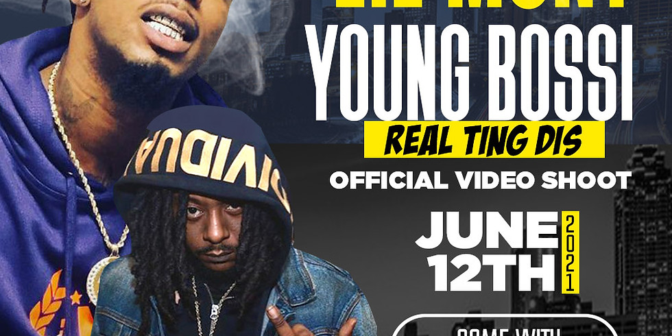 LIL MONT & YOUNG BOSSI REAL TING DIS VIDEO SHOOT