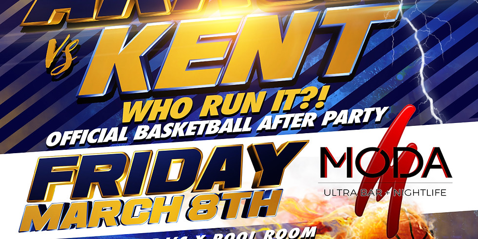 WHO RUN IT?! KENT VS AKRON OFFICIAL AFTERPARTY