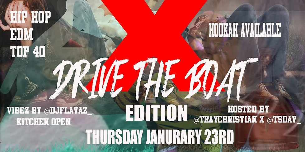 College Thursday's #DriveTheBoatEdition
