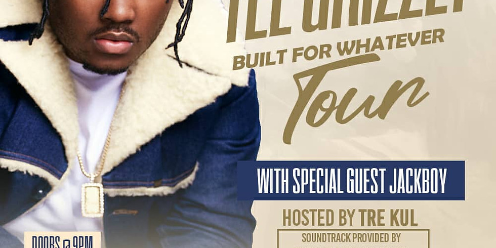 TEE GRIZZLEY BUILT 4 WHATEVER TOUR