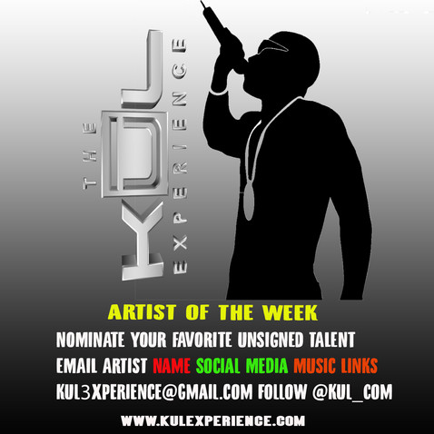 Nominate Artist Of The Week