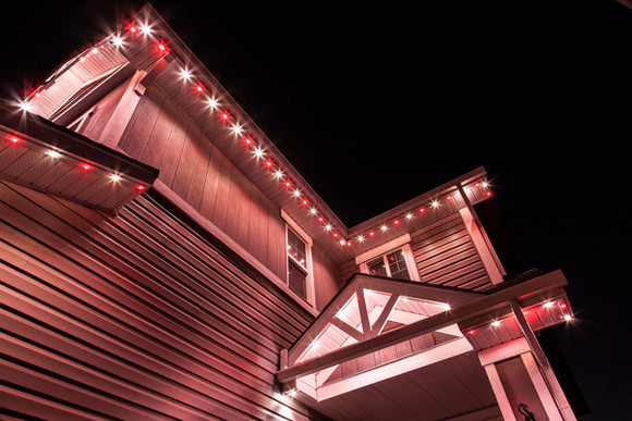 Holiday Peppermint Lights