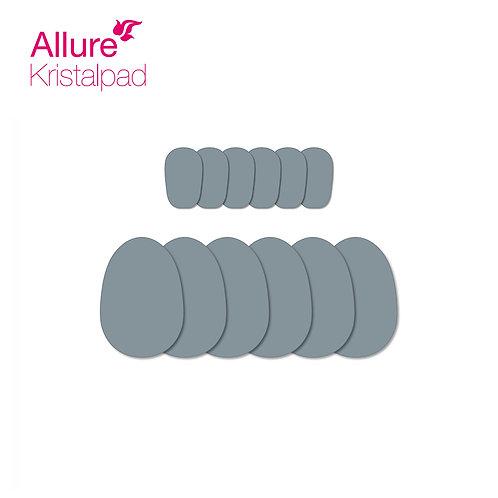 Navulling 6 kleine + 6 grote Kristalschijven Navulling voor Beautypad en Allure