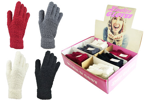 Ladies 1pk Snow Soft Gloves