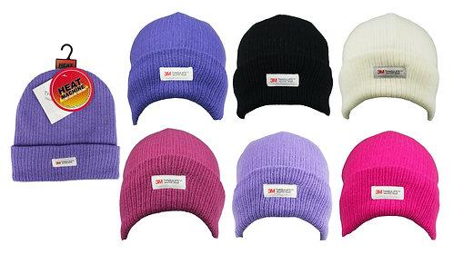 Ladies 1pk Thinsulate Turn up Hat