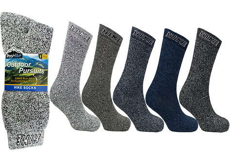Mens 3pk Hike Socks
