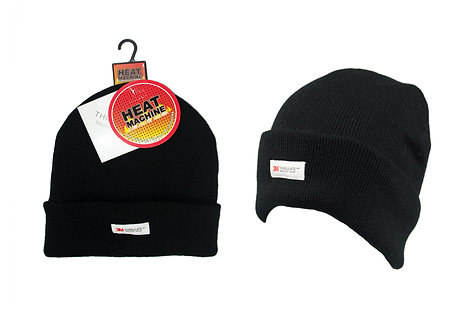 Mens 1pk Turn Up Thinsulate Hat