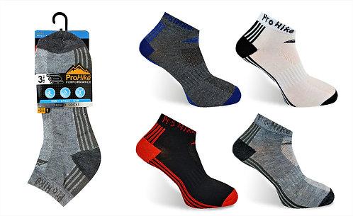 Mens 3pk Design Trainer Socks