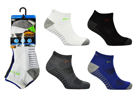 Mens 3pk Design Trainer Socks