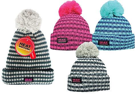 Ladies 1pk HM Fleece Lined Thermal Hat