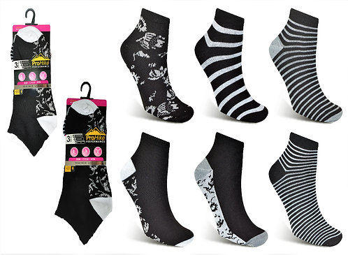 Ladies Trainer Socks Design