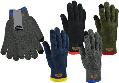 Mens 1pk ProHike Waffle Knit Gloves