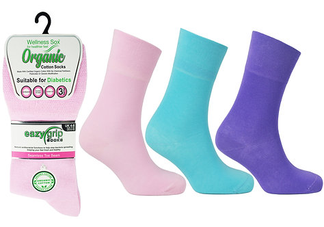 Ladies 3pk Wellness Toronto Socks
