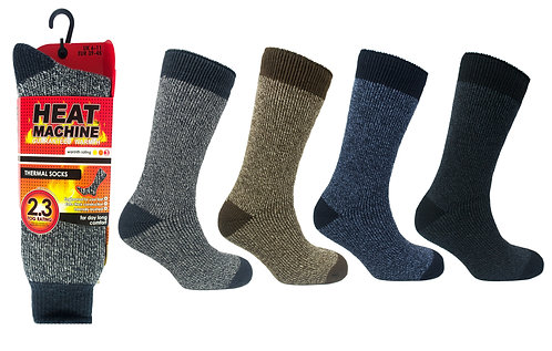 Mens 1pk HM twisted Yarn Socks
