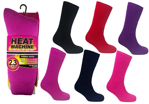 Ladies 1pk HM Thermal Asst Socks