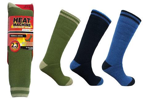 Mens 1pk HM Long Stripe Socks