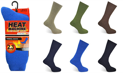 Mens 1pk HM Thermal Asst Socks