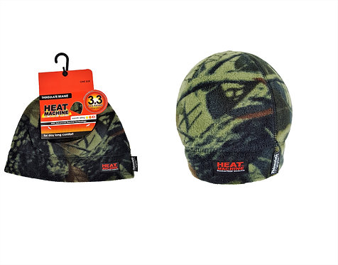 Heat Machine Mens Camo Fleece Hat
