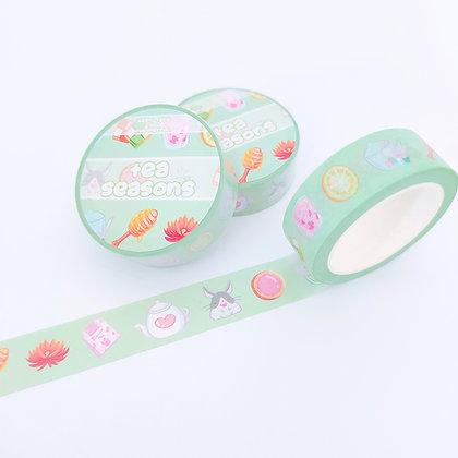 Washi Tape Tea seasons