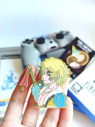 Tidus  - Final Fantasy Heroines and Heroes Pin Collection