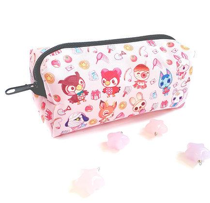 Estuche Animal Crossing Rosa