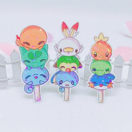 Pegatina holográfica Pokémon Dango