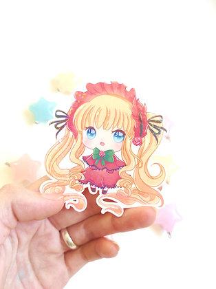Pegatina holográfica Rozen Maiden