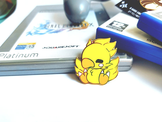 Chocobo - Final Fantasy Pets Pin Collection