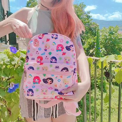 Mini-mochila Princesas