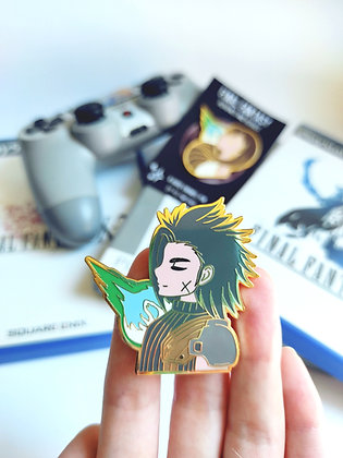 Zack - Final Fantasy Heroines and Heroes Pin Collection