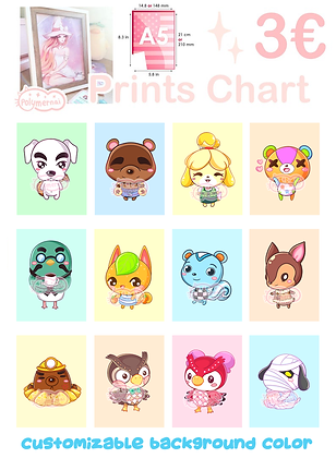 Prints Animal Crossing