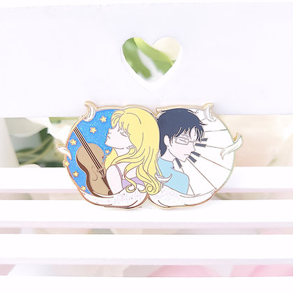 Your Lie in April - Pin metálico