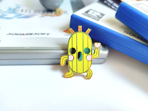 Cactilio - Final Fantasy Pets Pin Collection