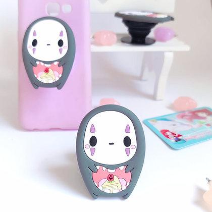 No Face - Soporte de móvil de silicona Ghibli