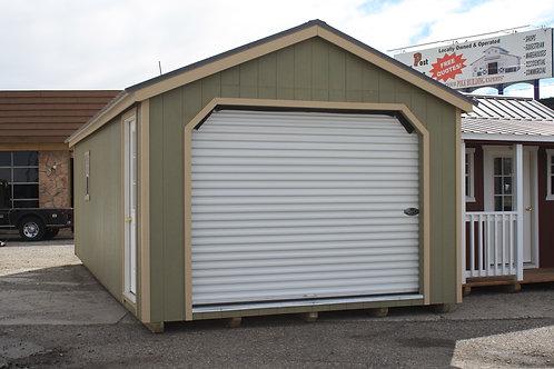 12x28 Garage Shed