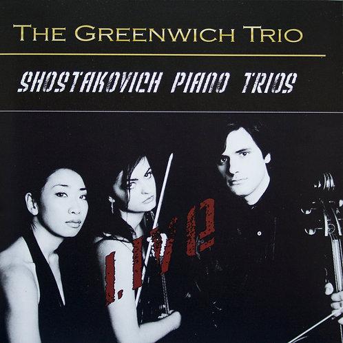 Greenwich Trio - Shostakovich Piano Trios Live - Limited Edition