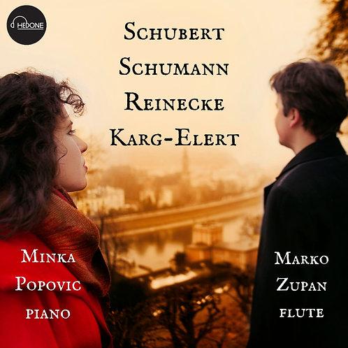 Sehnsucht - Schubert, Schumann, Reinecke, Karg-Elert - music for flute and piano