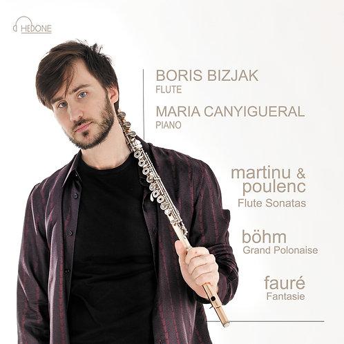 Martinu & Poulenc Sonatas, Boehm Grand Polonaise - flute and piano