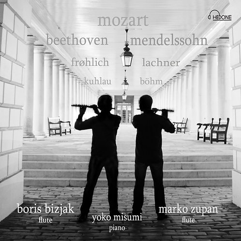 Two flutes and piano/ Mozart, Kuhlau, Frohlich
