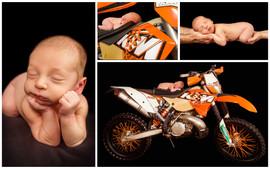 affordable newborn photographer north Br