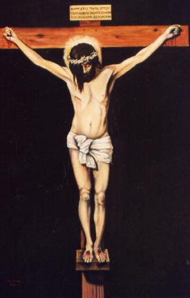 Crucifixtion after Velasquez