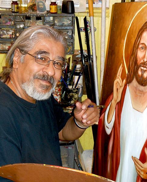 Stevon Lucero painting Metarealism