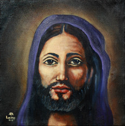 Jesus in Purple