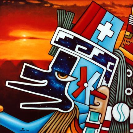 Blue Quetzalcoatl