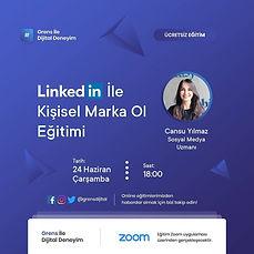 linkedin ile kişisel marka ol 24 haziran