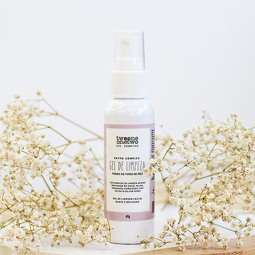 Gel de Limpeza Facial Sulfate Free Chá Verde Twoone Onetwo 60ml Vegano Natural